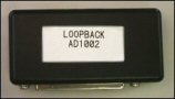 AD1002 Loopback Module, This adapter provides needed connections on one end of a cable to allow the ST1000 to perform testing when connected to the other end of the cable